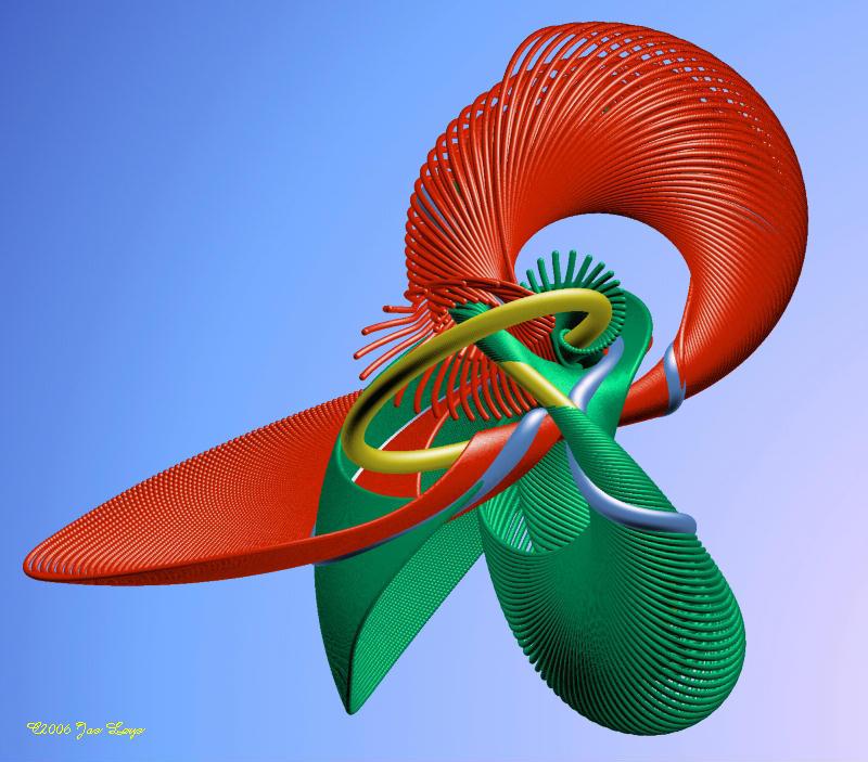 A modular knot